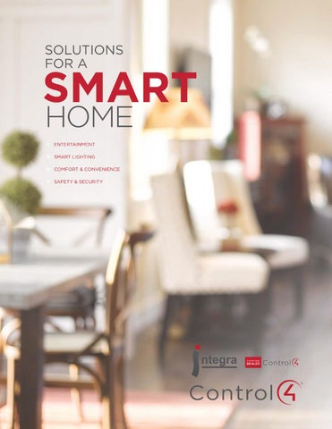 Integra smart home solutions brochure white by Mahmoud