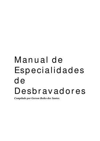 d3f7427297 Manual de especialidades completo by bruno rafael ferreira de ...