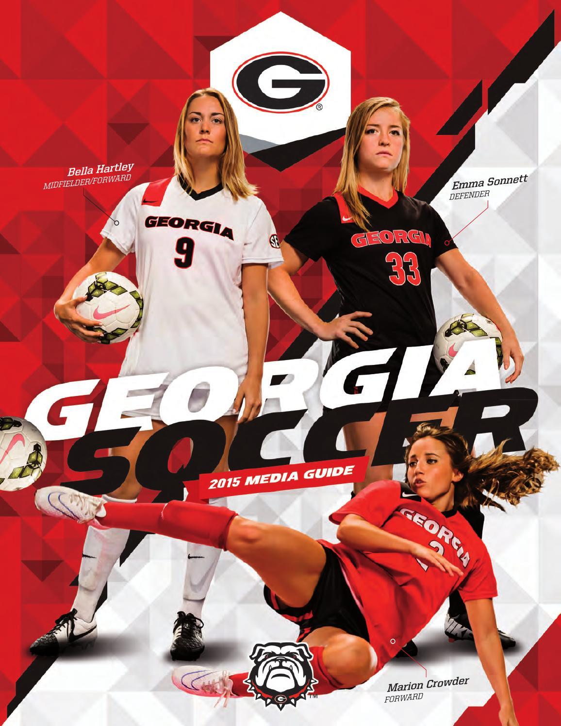 c5e291362b2 2015 Georgia Soccer Media Guide by Georgia Bulldogs Athletics - issuu