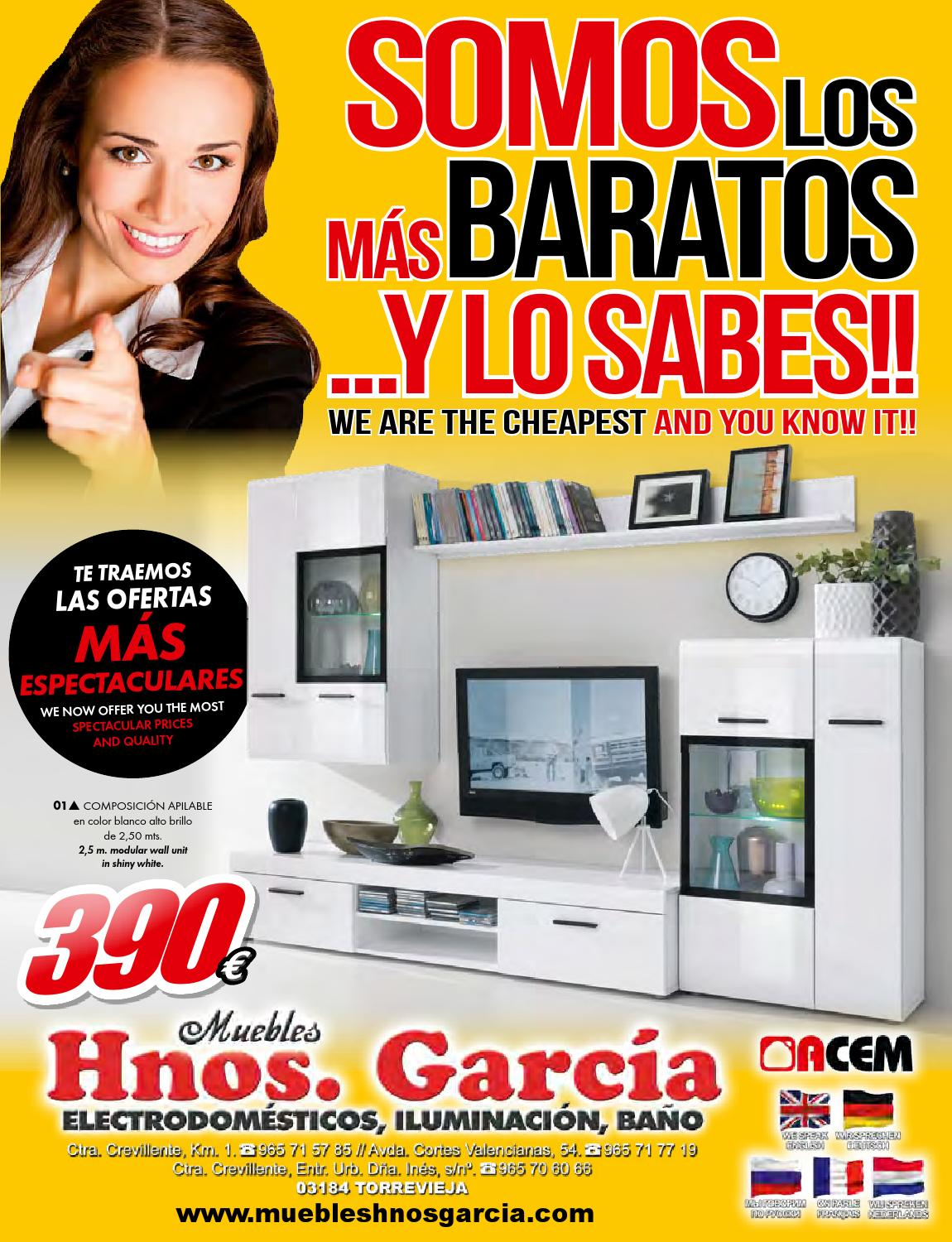 Muebles Hermanos Garcia - Folleto Muebles Hnos Garc A Somos Los M S Baratos Y Lo Sabes [mjhdah]http://static.youblisher.com/publications/257/1537154/large-1537154-5.jpg