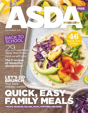 Enjoyable Asda Magazine September 2015 By Asda Issuu Download Free Architecture Designs Scobabritishbridgeorg