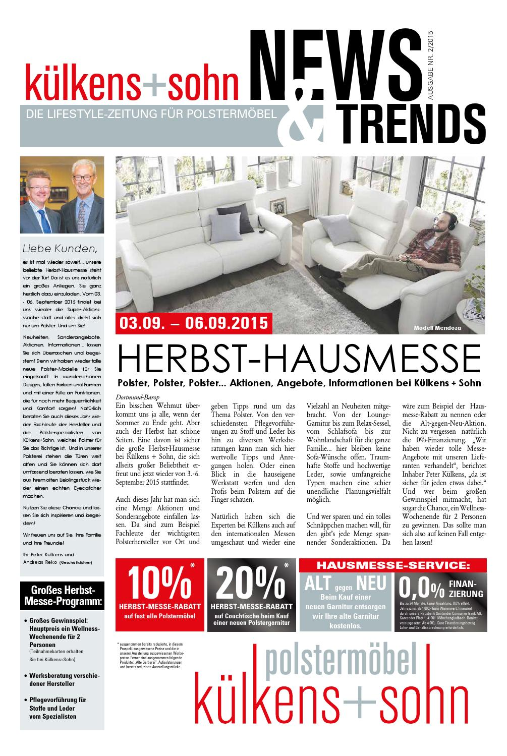 k lkens sohn news trends by perspektive werbeagentur issuu. Black Bedroom Furniture Sets. Home Design Ideas