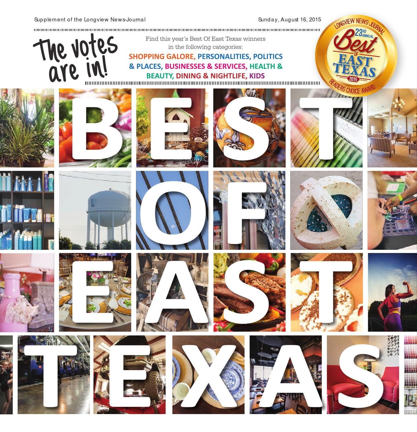 longview news journal 2015 best of east texas winners by news