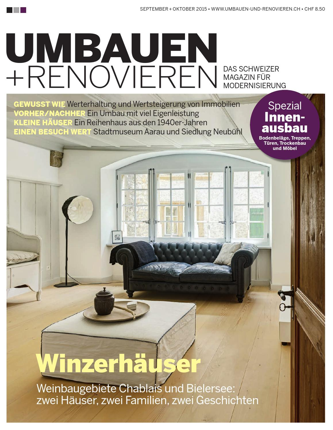 umbauen renovieren 5 2015 by archithema verlag issuu. Black Bedroom Furniture Sets. Home Design Ideas
