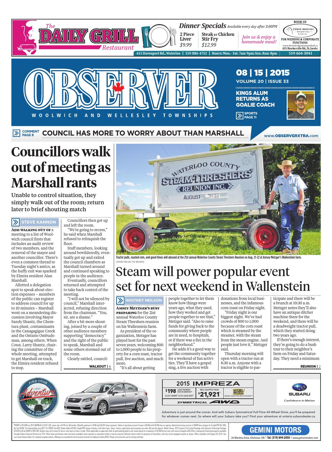 August 15 2015 By Woolwich Observer Issuu Hacks And Mods The Blaspheme Clock
