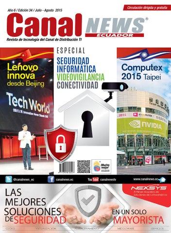 3a454eebe3f3 Revista Canal News Ecuador ED 34 by Augusto Pauta T. - issuu