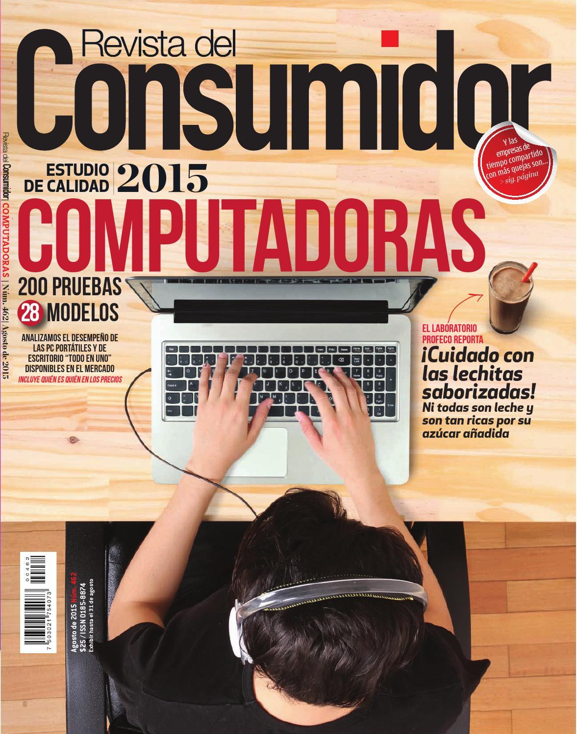 Revista del consumidor agosto 2015 by profeco issuu for Telefono oficina del consumidor