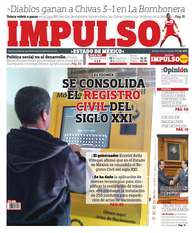 2015 08 17 By Impulso Diario Issuu