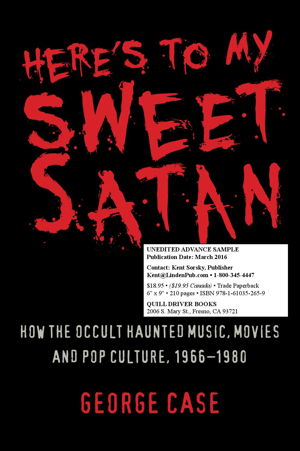 Here's to My Sweet Satan (sample) by Kent Sorsky - issuu