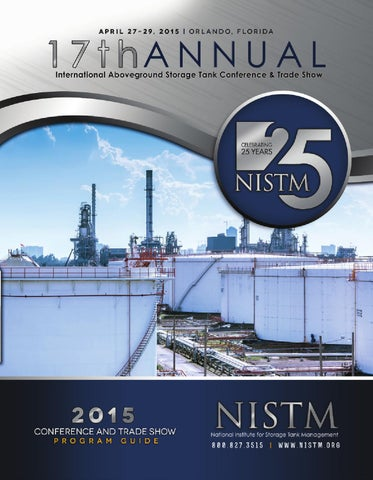 17th Annual International Aboveground Storage Tank Conference