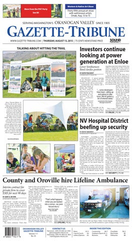 Okanogan Valley Gazette-Tribune, August 13, 2015 by Sound