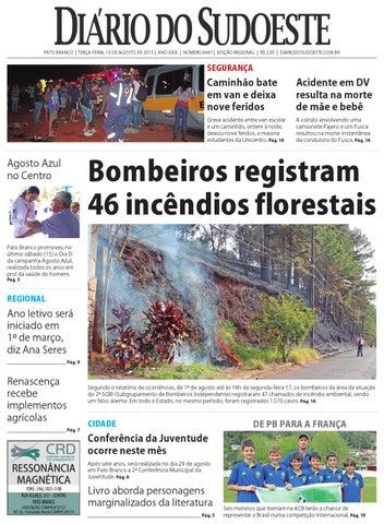 ff535857533 Diário do sudoeste 18 de agosto de 2015 ed 6447 by Diário do ...