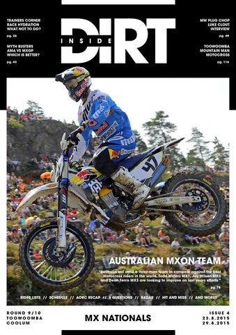 inside dirt issue 4 mx nationals by mx nationals issuu rh issuu com