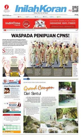 WASPADA PENIPUAN CPNS! by inilah koran - issuu 93e958cd4f