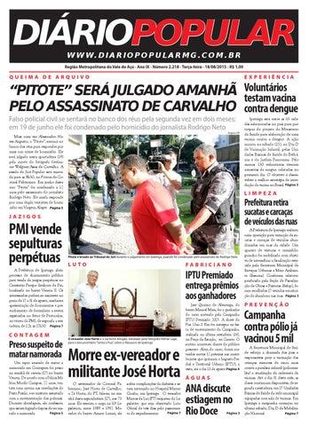 18 08 2015 by Jornal Diário Popular - issuu bbefc1bd1affb