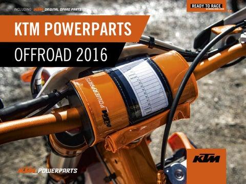 Refrigeración PowerParts Offroad KTM
