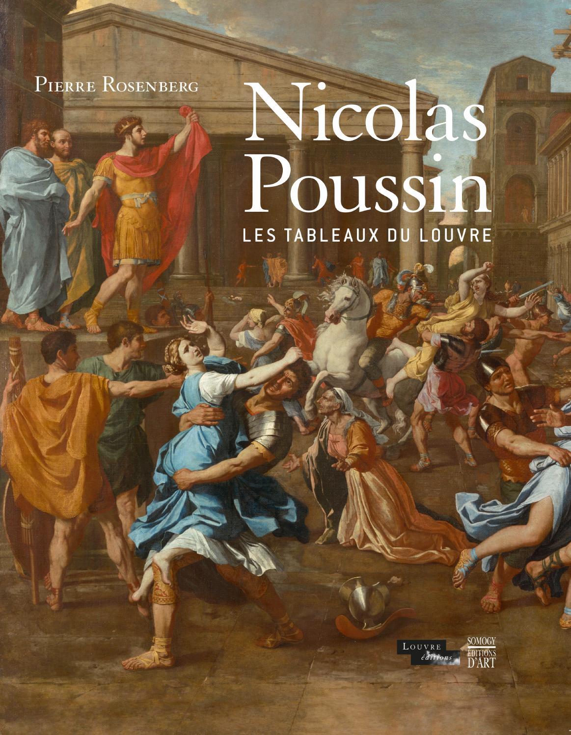 Top Nicolas Poussin. Les tableaux du Louvre (extrait) by Somogy  RQ01