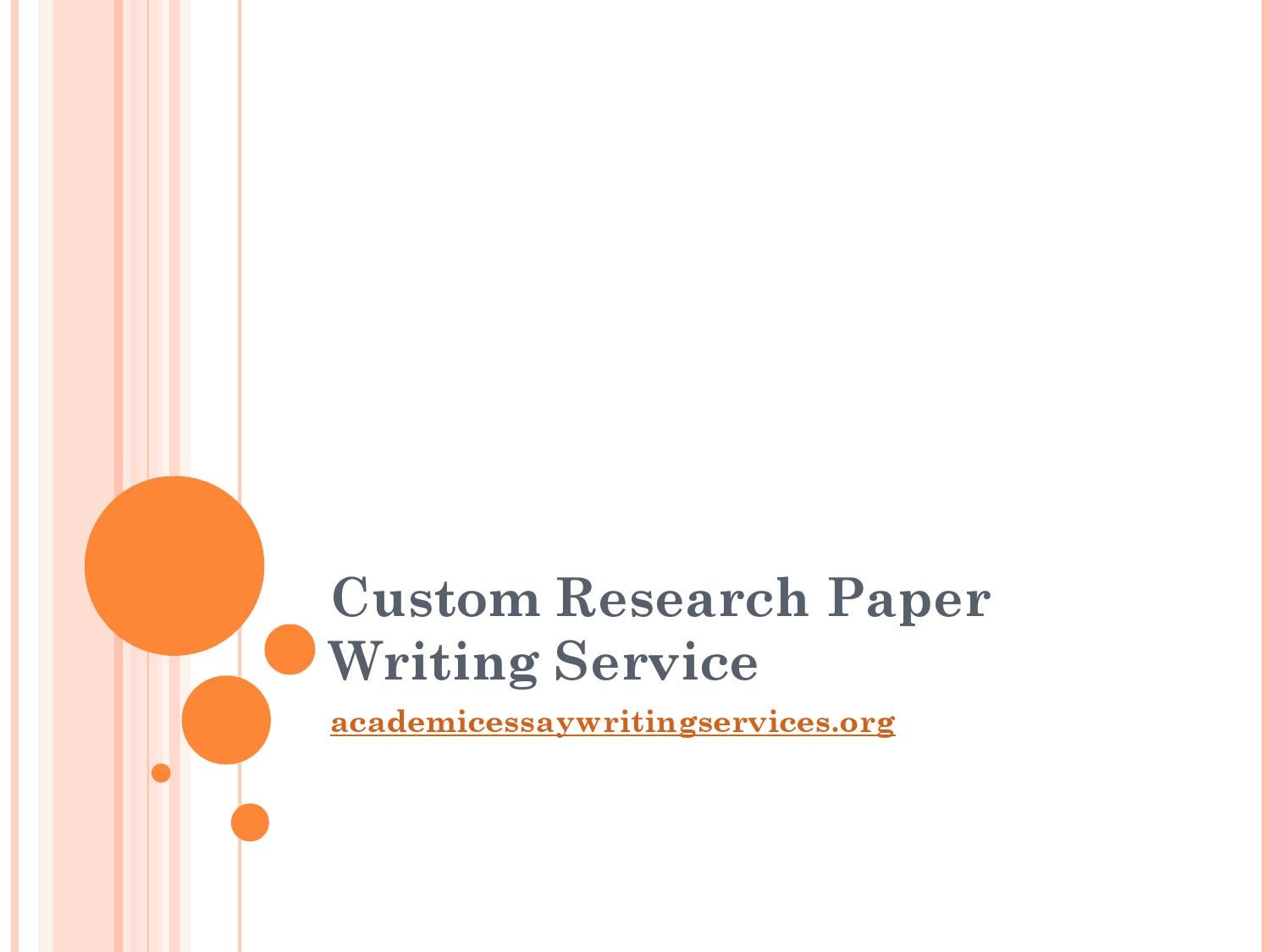 Best Custom Research Paper Writing Service | blogger.com
