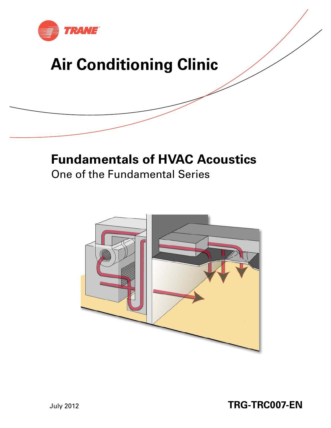 Fundamentals Of Hvac Acoustics Trane By Pcern Issuu Draw Band