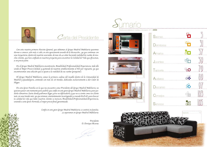 Catalogo Muebles Pedro Alcazar By Misfolletos Com Misfolletos Com  # Muebles General Ricardos