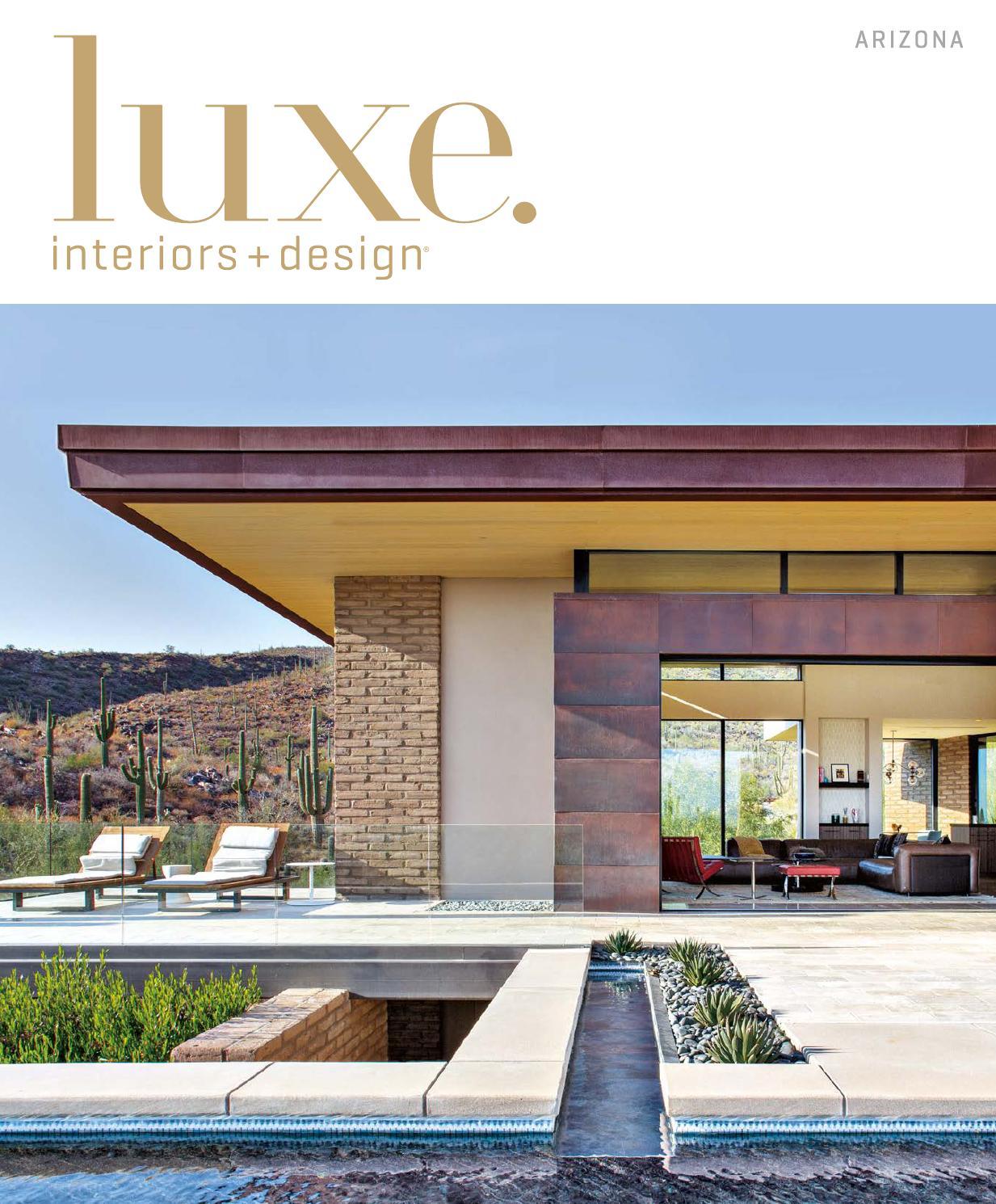Luxe Magazine September 2015 Arizona By Sandow Media LLC