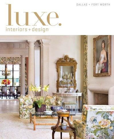 Luxe Magazine September 2015 Dallas By SANDOWR