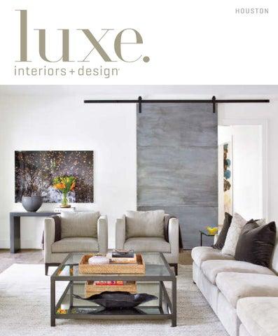 Luxe Magazine September 2015 Houston By SANDOWR