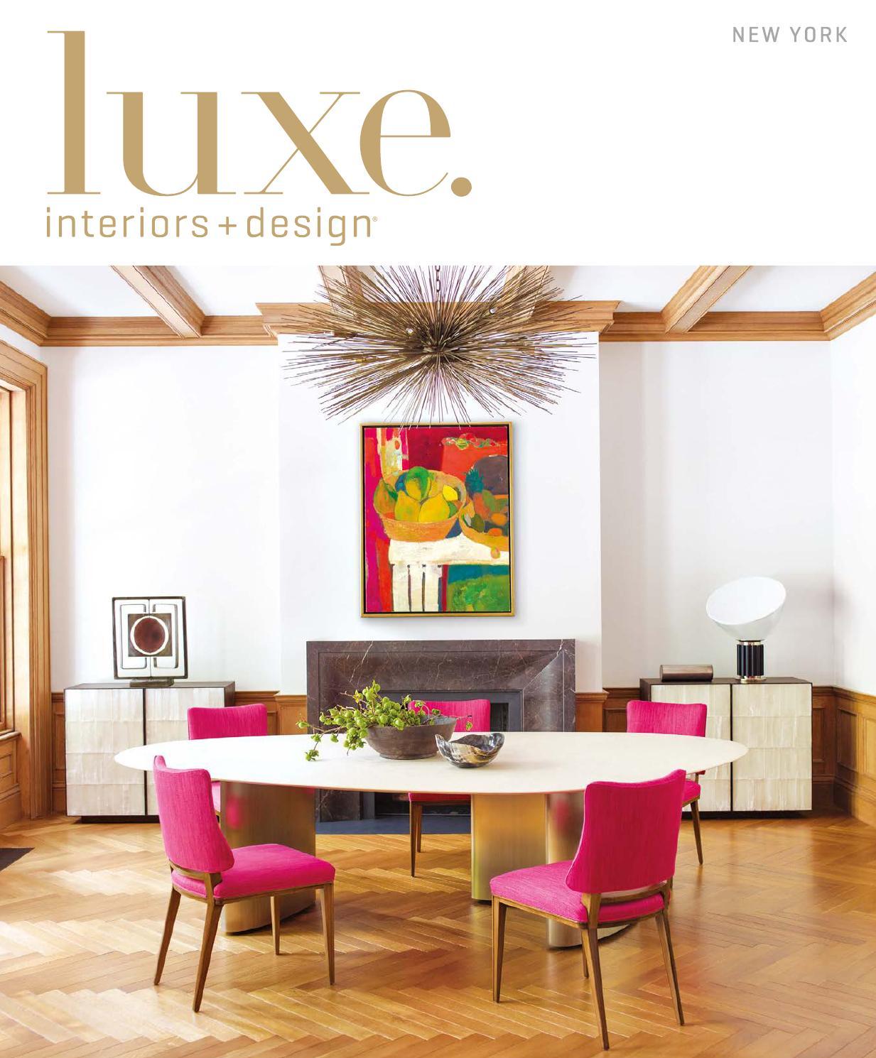 Luxe magazine september 2015 new york by sandow issuu