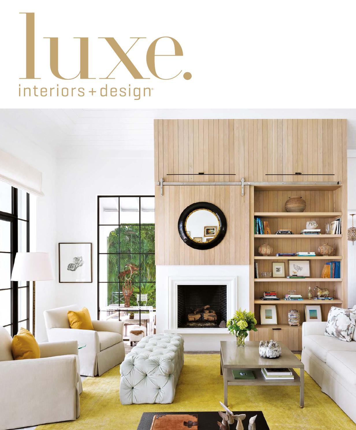 Luxe Magazine September 2015 Palm Beach By SANDOW®