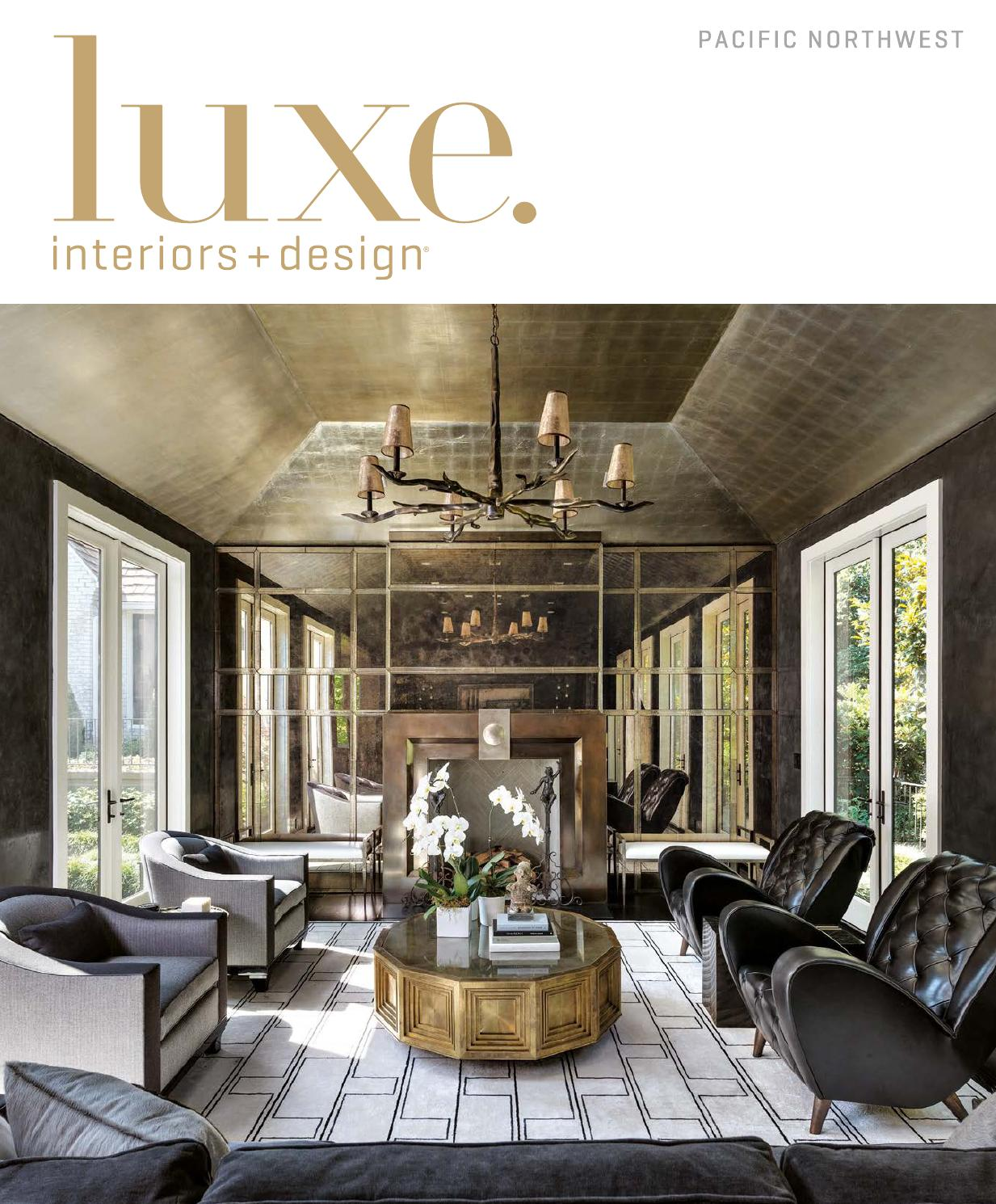 Luxe Magazine September 2015 Pacific Northwest By Sandow Media Llc  # Muebles Saint Michel