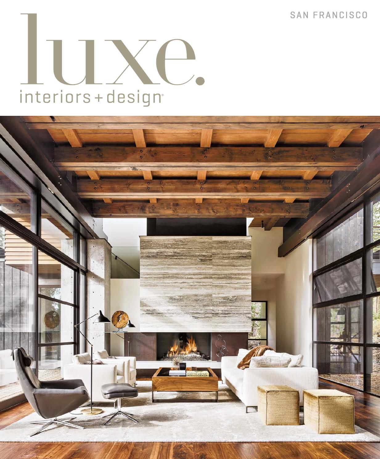 Luxe Magazine September 2015 San Francisco By Sandow Media LLC