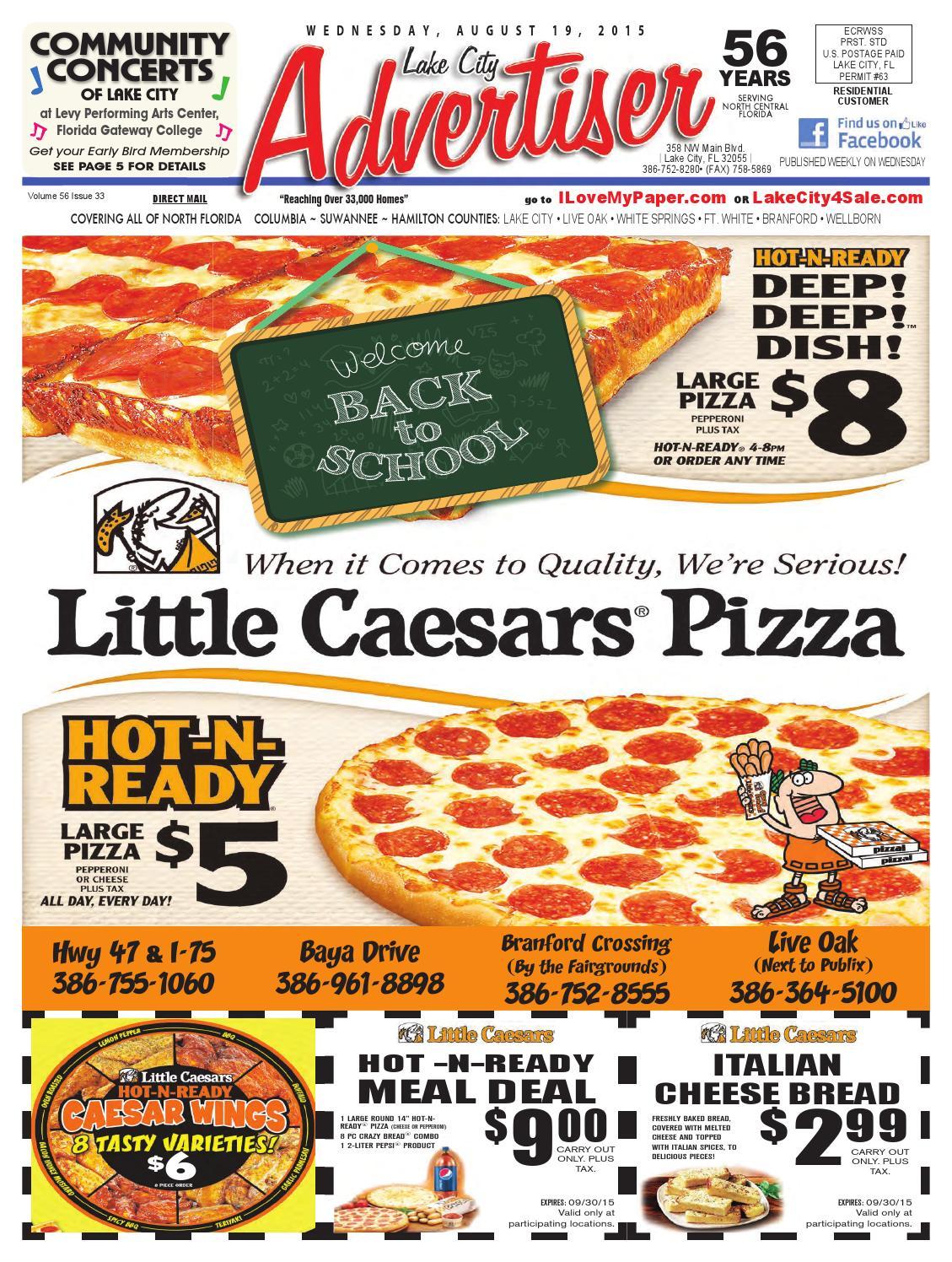 08 19 15_Advertiser by North Central Florida Advertiser issuu