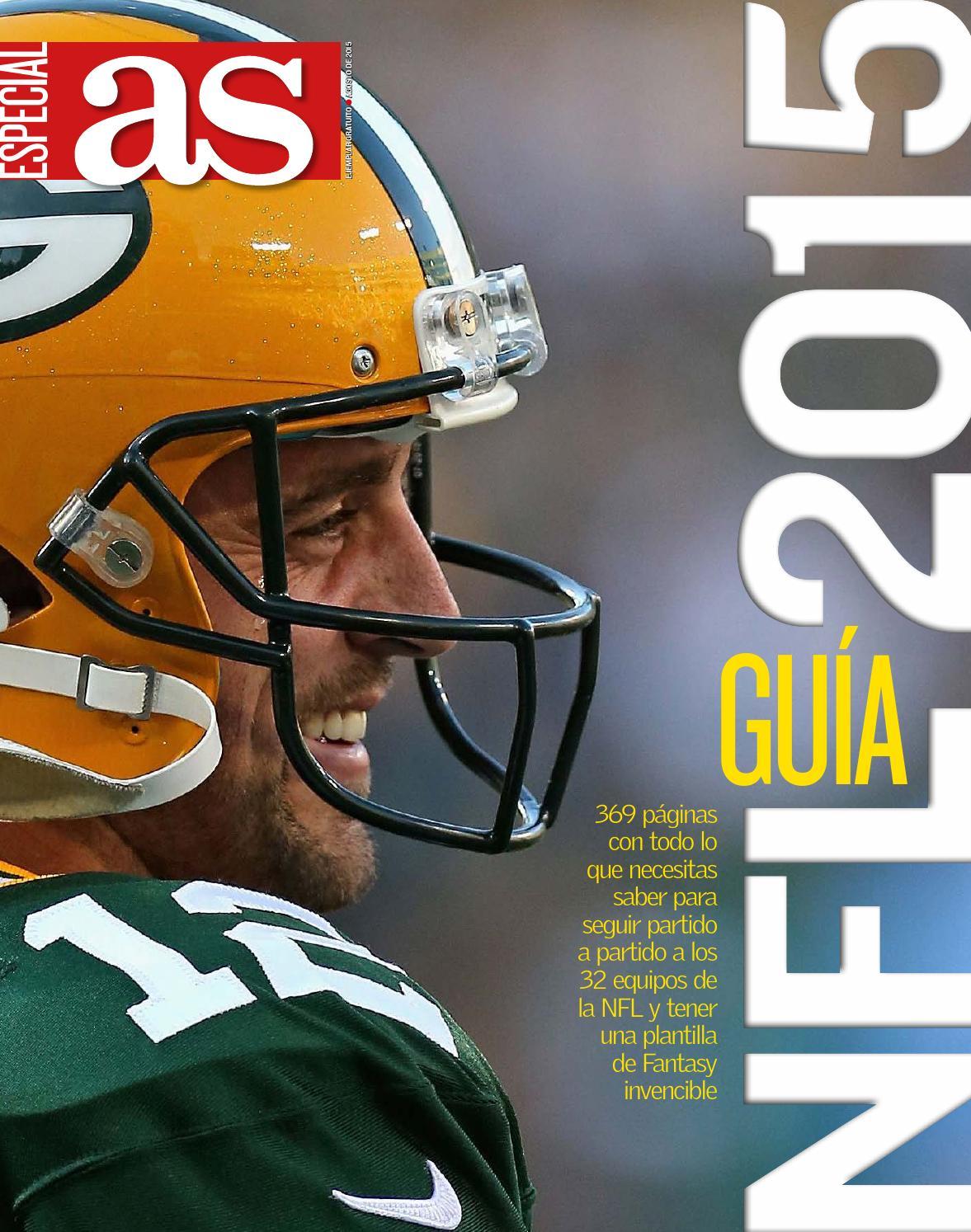 Guia as nfl 2015 by JPWolls - issuu