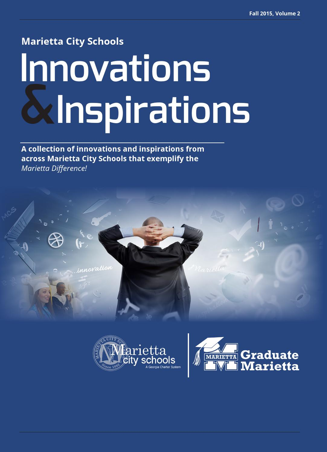 Innovations and Inspirations 2015 by Marietta City Schools - issuu