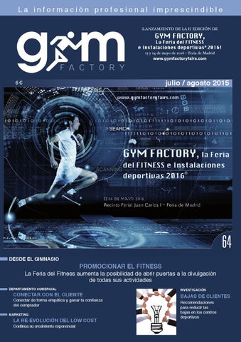 Gym Factory Gestión Nº 64 by Gym Factory Magazine - issuu f7cab69ef2f1a