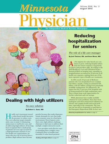 Minnesota Physician August 2015 by Minnesota Physician