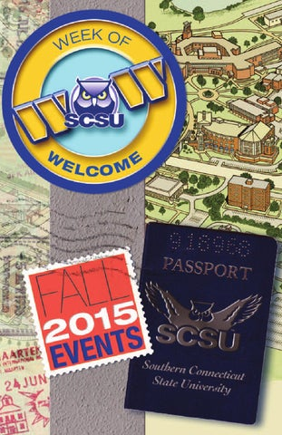 week of welcome fall 2015 by southern connecticut state university