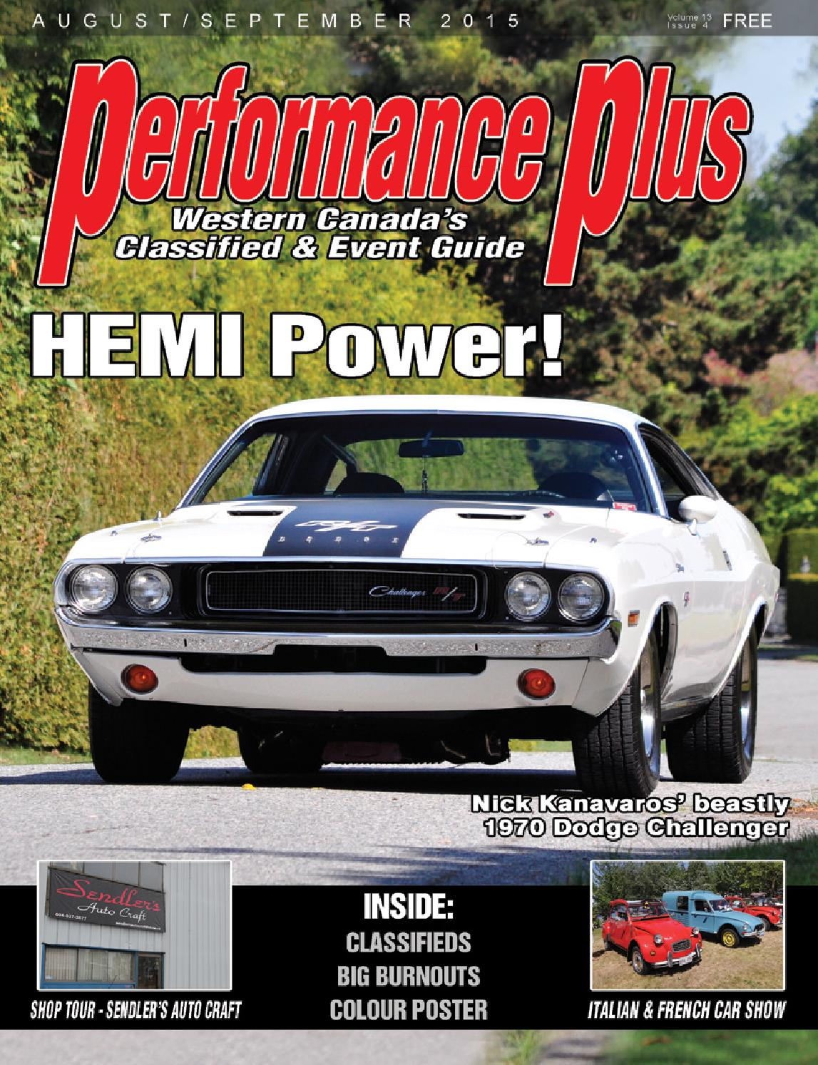 Performance Plus Aug Sept 2015 Issuu By Rpm Canada 92 Firebird Convertible Dash Wiring Harness Interior Tpi Trans Am Tail