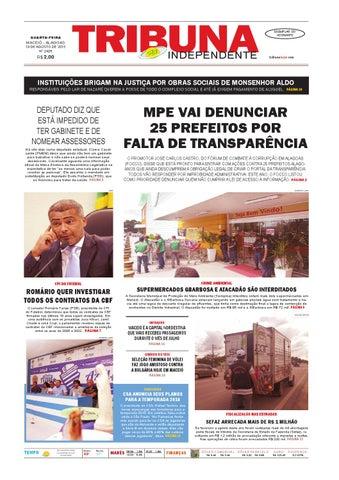cdf0342d743 Edição número 2425 - 19 de agosto de 2015 by Tribuna Hoje - issuu