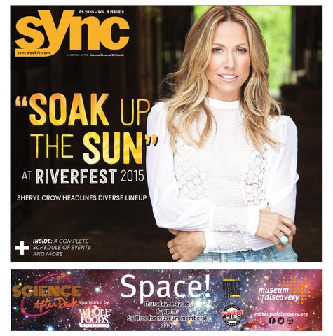 36cfd2bf9 WRITING: Sheryl Crow cover story in Little Rock newspaper by Kristal ...