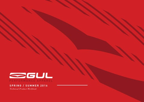 c60d1ef8e71 Gul Spring   Summer 2018 Technical Workbook by Gul Watersports - issuu