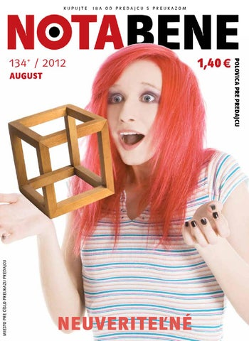77788c8fd264 Nota bene 134 august 2012 by Proti prudu - issuu