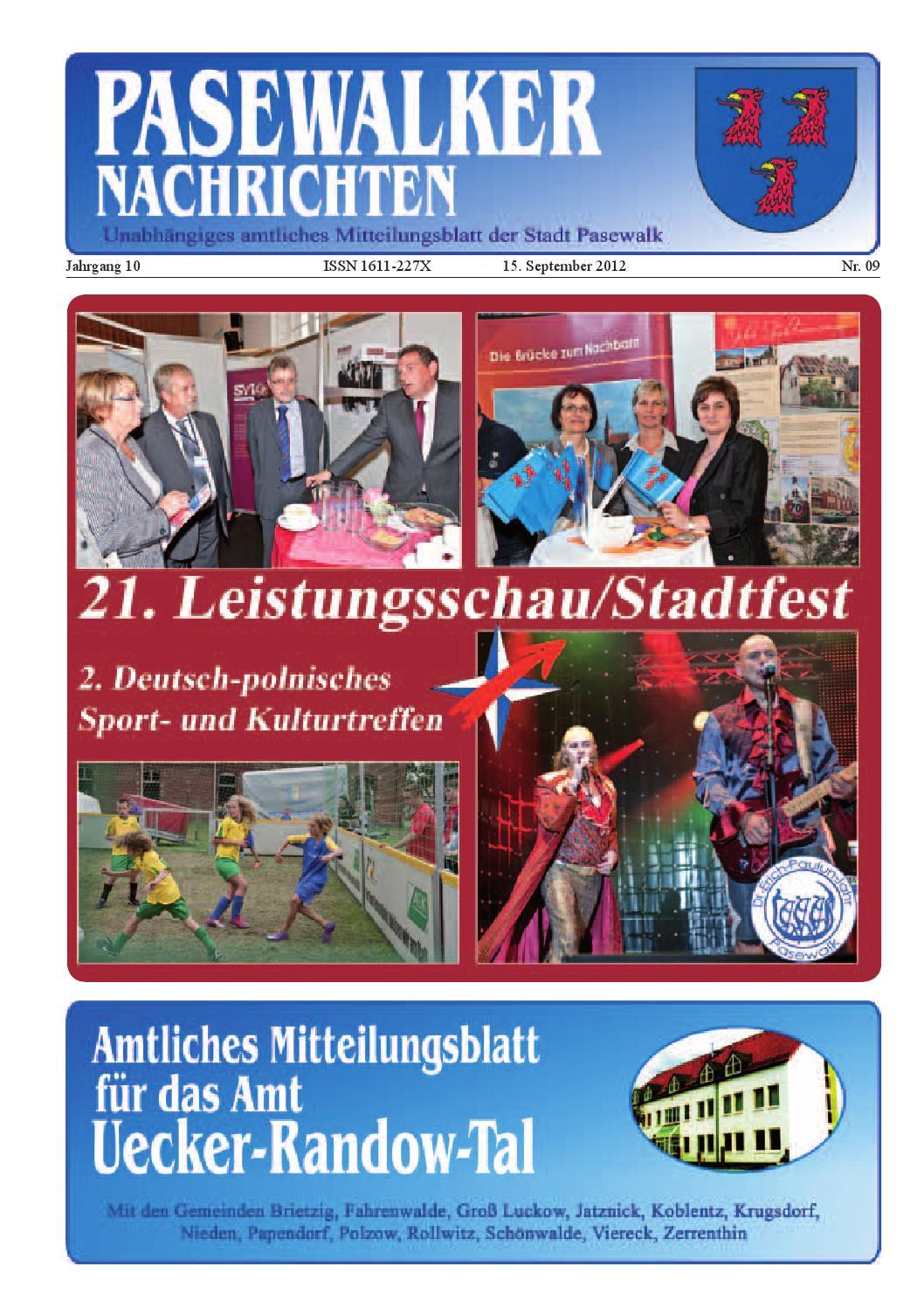 Pas 2012 ausgabe 09 by Schibri-Verlag - issuu
