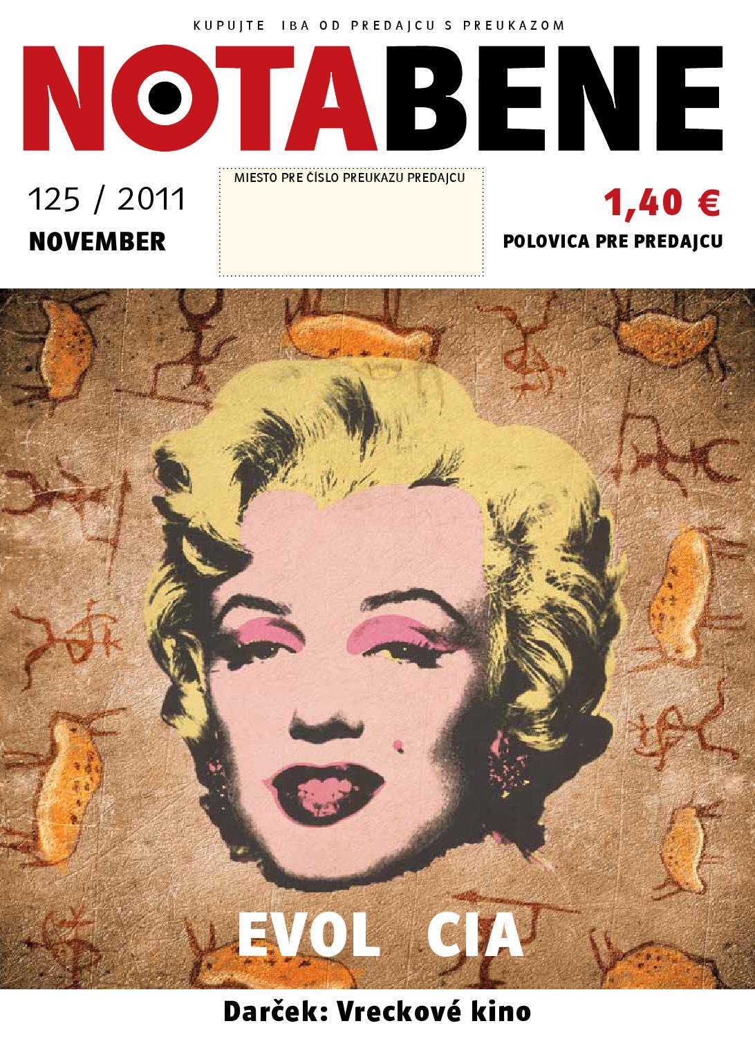 7f421d6788a0d Nota bene 125 november 2011 by Proti prudu - issuu