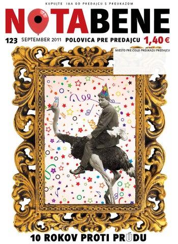 9fe697451f88 Nota bene 123 september 2011 by Proti prudu - issuu