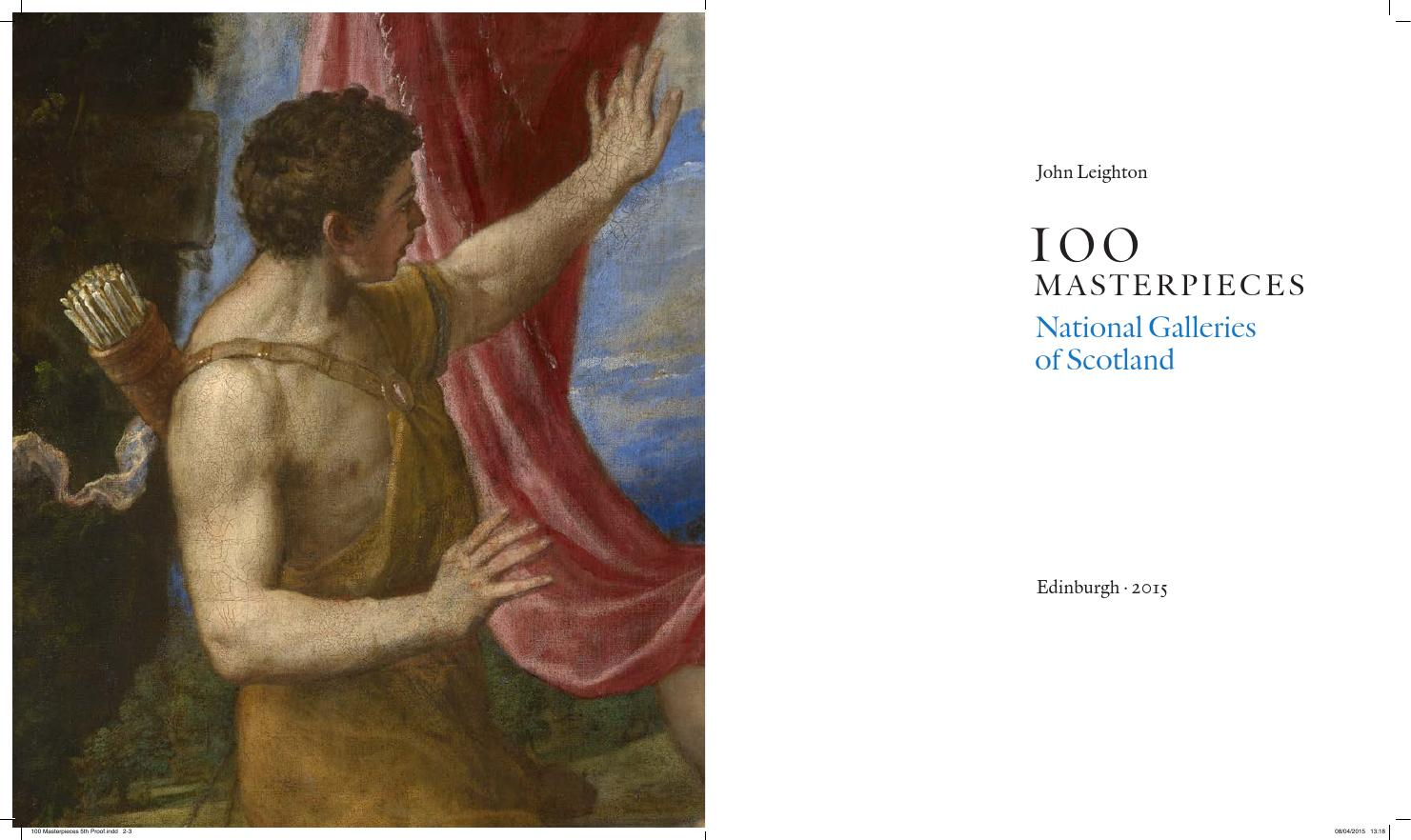 100 Masterpieces from National Galleries of Scotland by Books from Scotland  - issuu