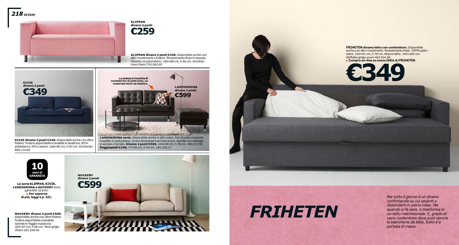 Kivik Divano Letto 3 Posti.Ikea Catalogo 2016 By Mobilpro Issuu