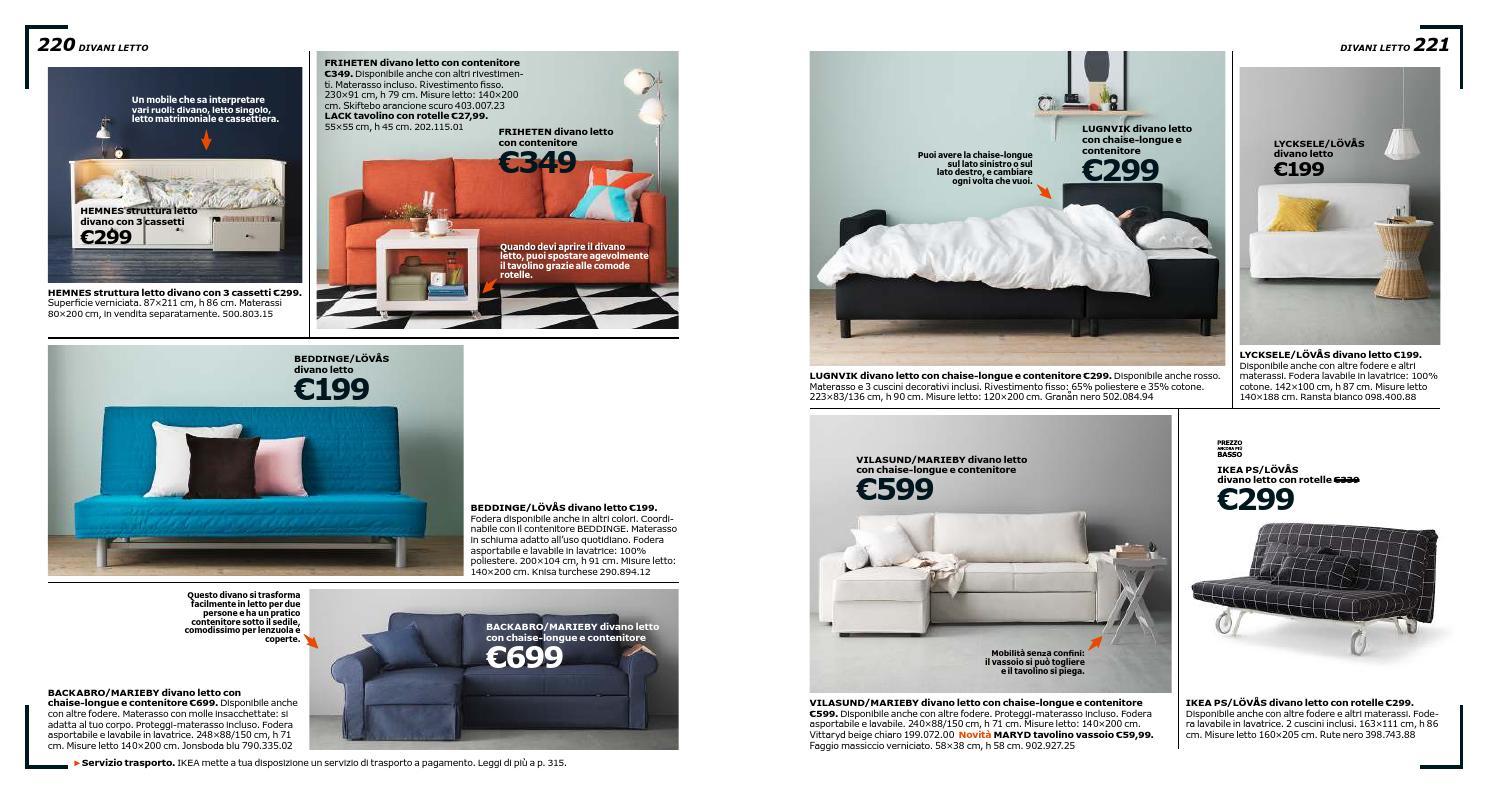 Beddinge Divano Letto Ikea.Ikea Catalogo 2016 By Mobilpro Issuu