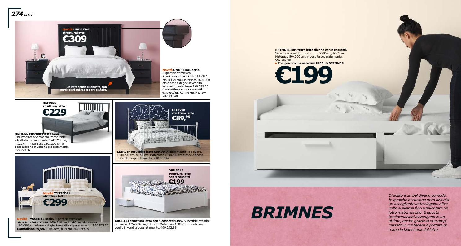 Letto Singolo In Pino.Ikea Catalogo 2016 By Mobilpro Issuu