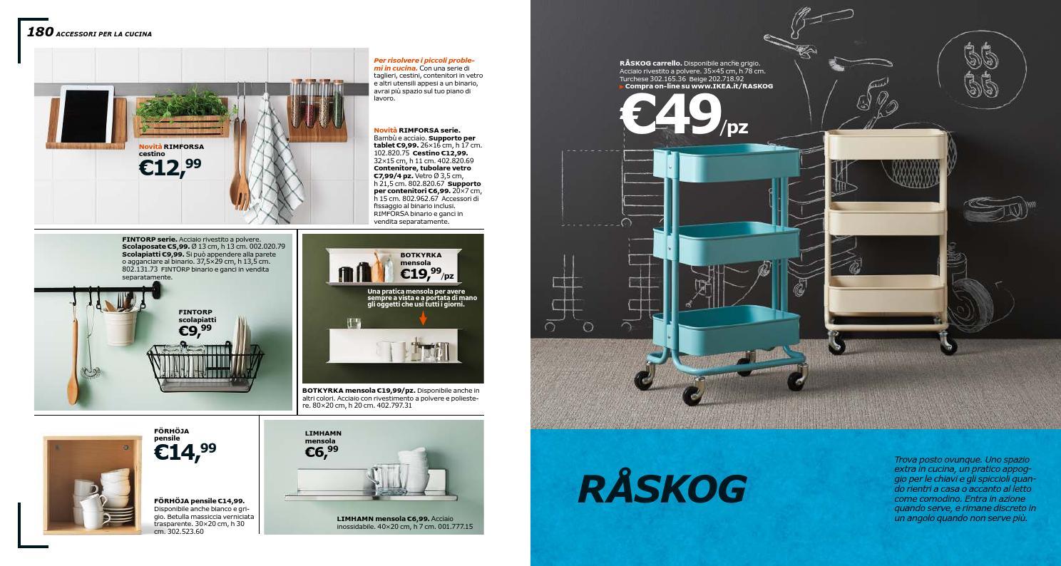 Binario Pensili Cucina Ikea casa e cucina arredamento beige 45 x 35 x 78 cm ikea raskog